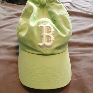Boston Red Sox teal baseball hat